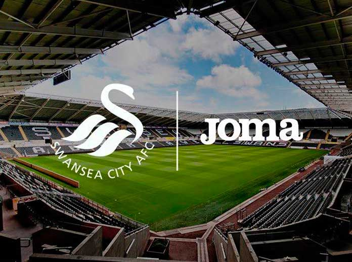 Joma sponsor dello Swansea City AFC in Premier League
