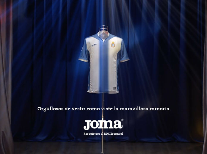 Joma lanza la nueva equipación del RCD Espanyol