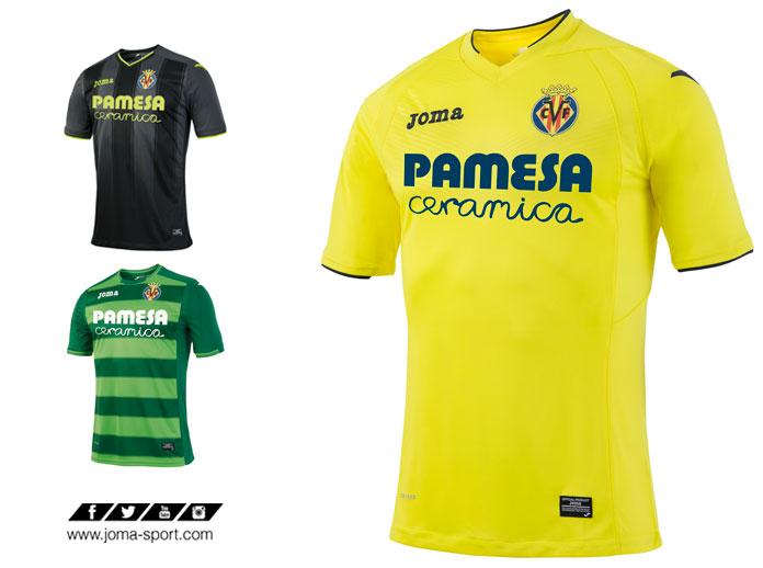 Joma presenta la nueva camiseta del Villarreal CF