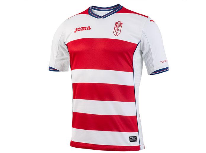 Descubre la camiseta oficial del Granada CF