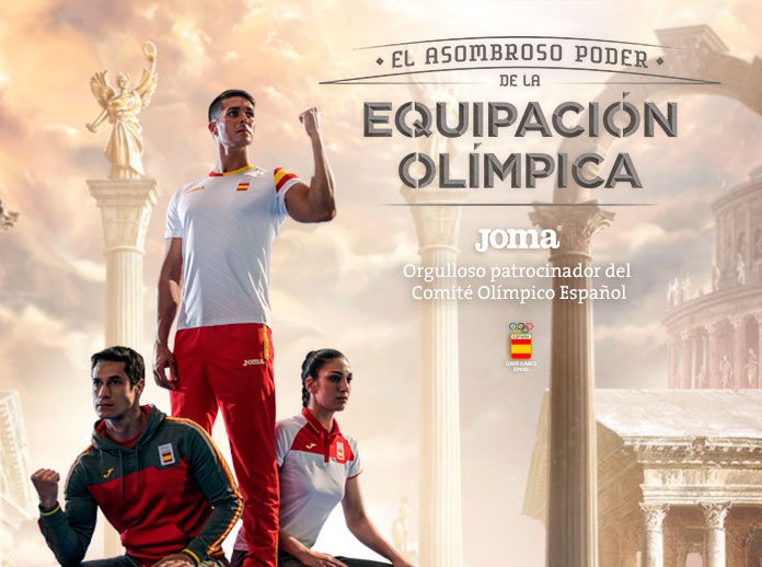 Joma campaign for Spanish Olympic Committee in Rio de Janeiro