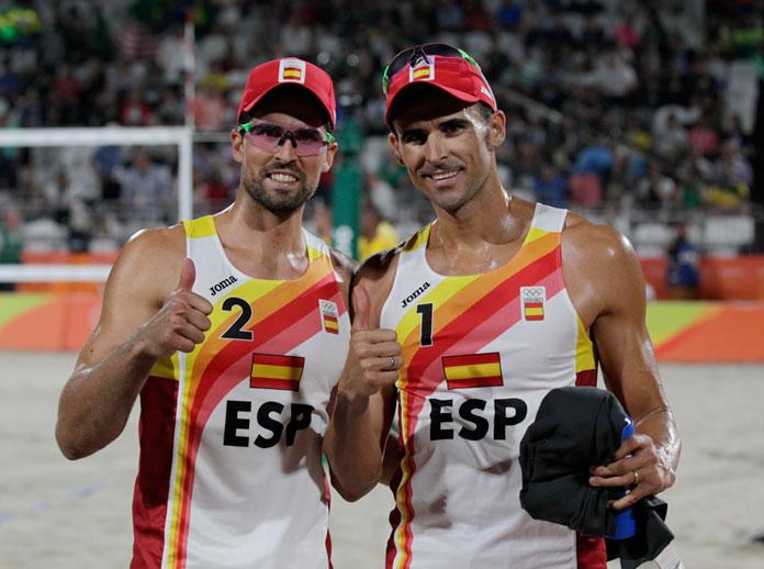 Brillante actuación de España en las Olimpiadas de Río