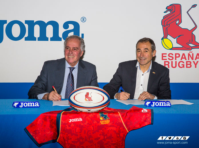 Joma seals its agreement with the Spanish Rugby Federation