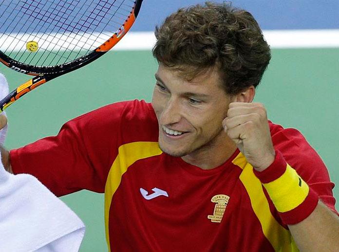 Carreño ist für den Davis Cup aufgestellt