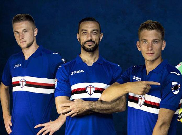 Joma presenta la maglia gioco ufficiale dell'U.C. Sampdoria