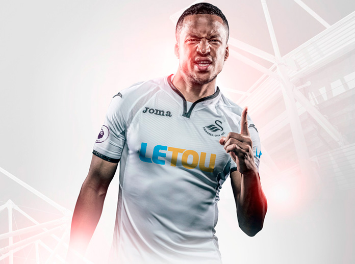 Joma, as technical sponsor of Swansea City AFC, presents the official shirt for the 2017/2018 season