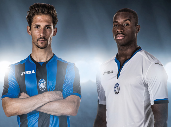 Joma, as technical sponsor of Atalanta B.C., presents the official shirt for the 2017/18 season