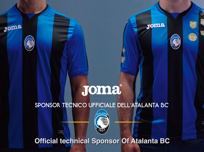 "Joma launches ""Atalanta B.C. badges"