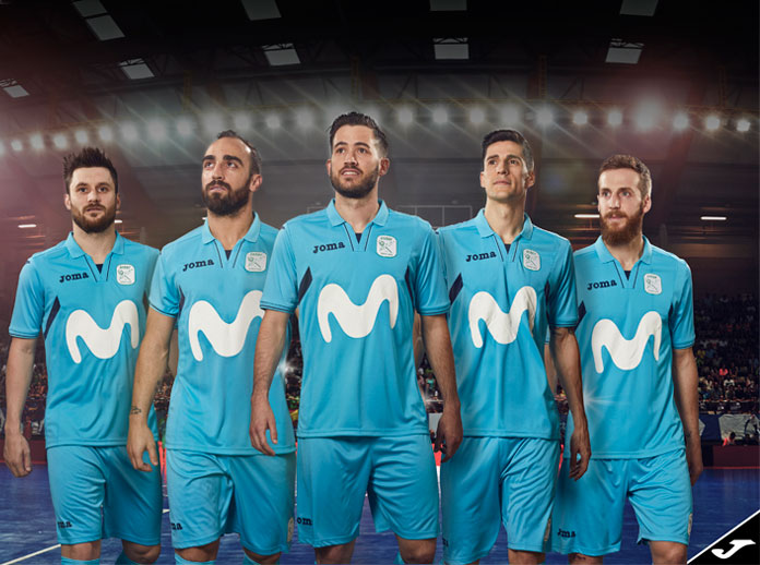 Movistar Inter will be dressed by Joma again for the 2017/2018 season
