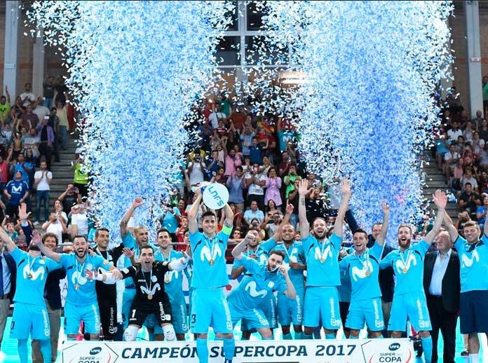 Movistar Inter, campione nella Supercopa di Spagna