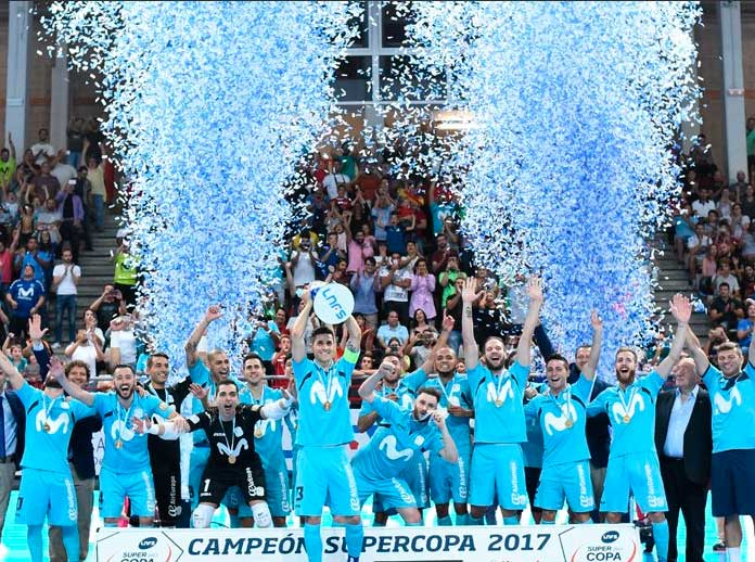 Movistar Inter crowned champions of Spanish Super Cup for twelfth time