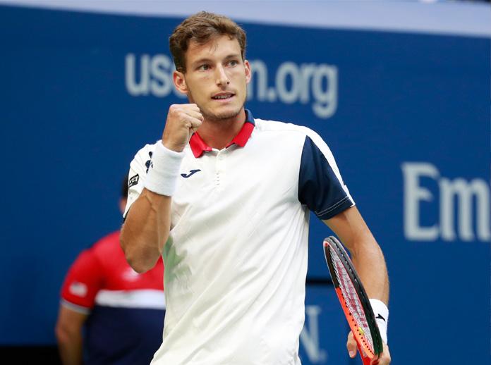 Pablo Carreno-Busta ist bereits in den Top Ten der ATP