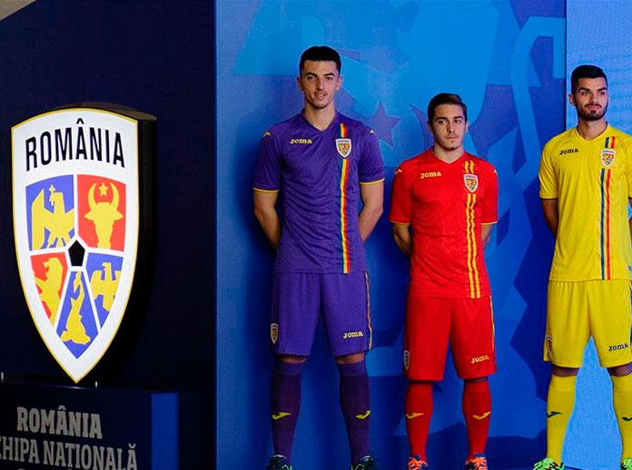 Presentamos la nueva equipación de la Selección Nacional de Fútbol de Rumanía